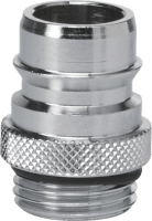 "VIKAN Quick coupling 3/4"" with 1/2"" thread"