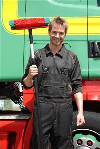 Četka i teleskop za pranje vozila - kamiona i autobusa