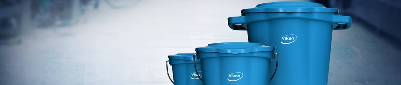 Buckets for the food and beverage industry