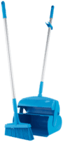 VIKAN Dustpan set closable with broom