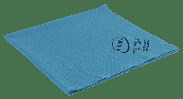 Vikan krpa za poliranje i laštenje 40x40cm plava