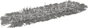 Vikan profesionalni mop Damp 43 čičak 40cm