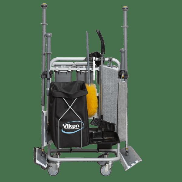 Vikan Small Space Cleaning kolica za čišćenje
