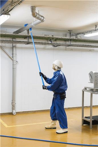 Vikan ultra higijenska drška s četkom za prašinu