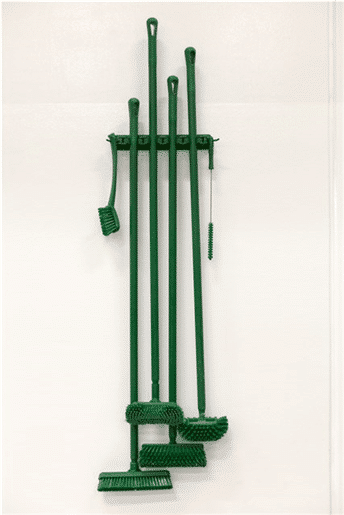 Vikan zidni nosač primjer zeleni